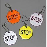 Брелок светоотражающий Stop Кбр65 Гранит {Китай}