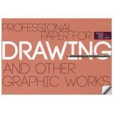 Бумага для рисунка и графики А2 (420*594 мм) 10 листов 4-129 160 г/кв.м Bruno Visconti {Россия}