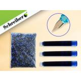 Баллончики для перьевых ручек синие S-8888 Schreiber {Китай}