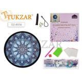 Алмазная мозаика круглая 24х24 см
