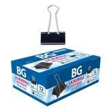 Зажим для бумаг 32 мм черный Z32 7490 BG {Китай}