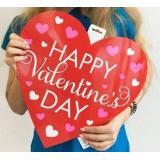 Баннер Сердце Валентинов День 38 см 1505-1263 Amscan {Китай}