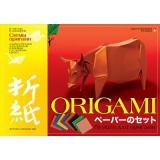 Набор бумаги для оригами со схемами А4 8л 11-08-182/4 Альт {Россия}