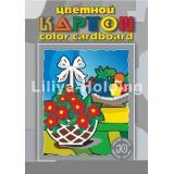 Набор цветного картона А3 10л 10цв